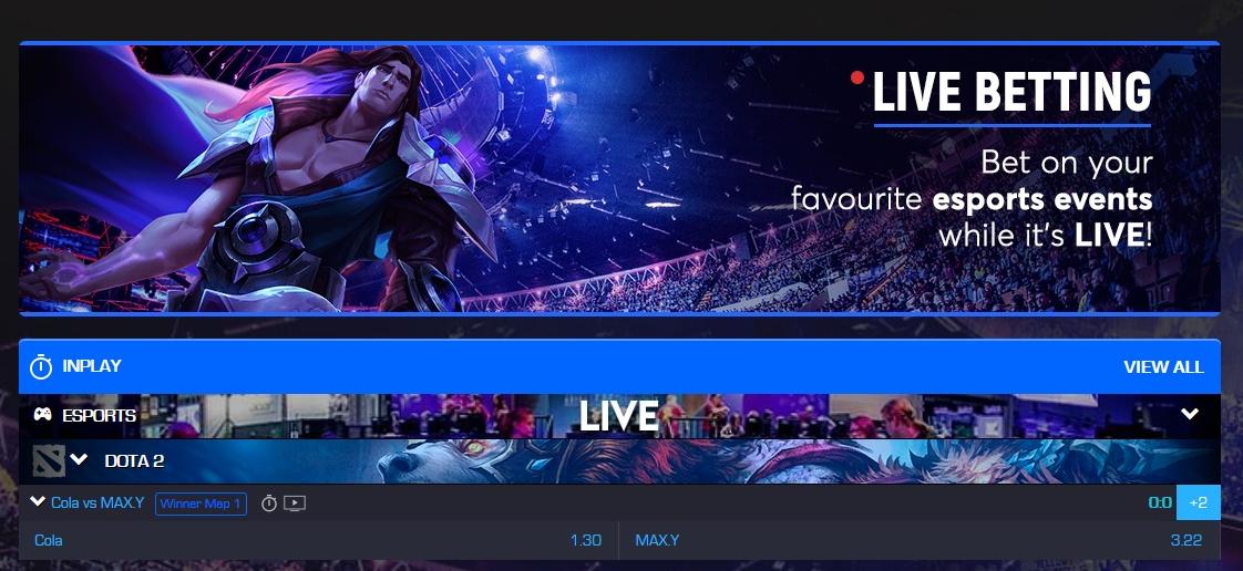 CSGO Esports Live Betting