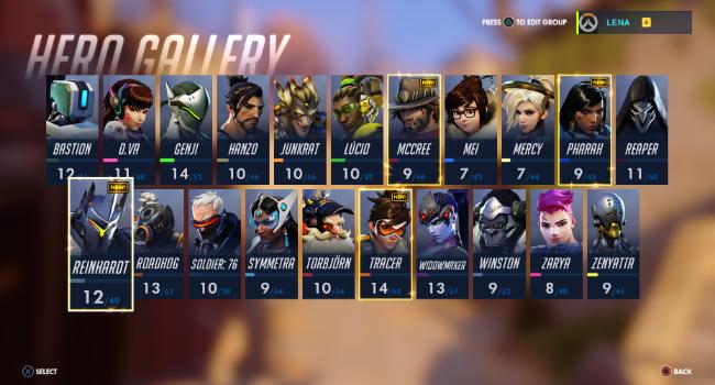 hero gallery overwatch