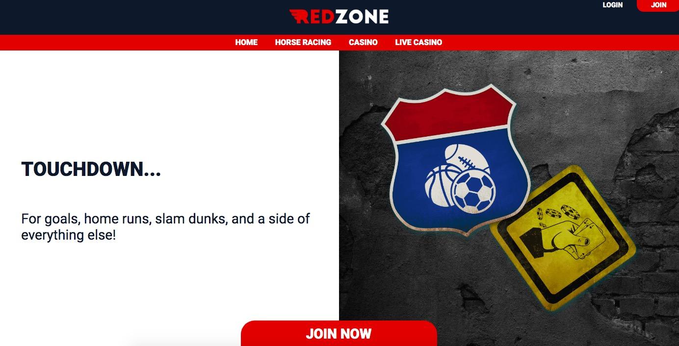 Redzone main page