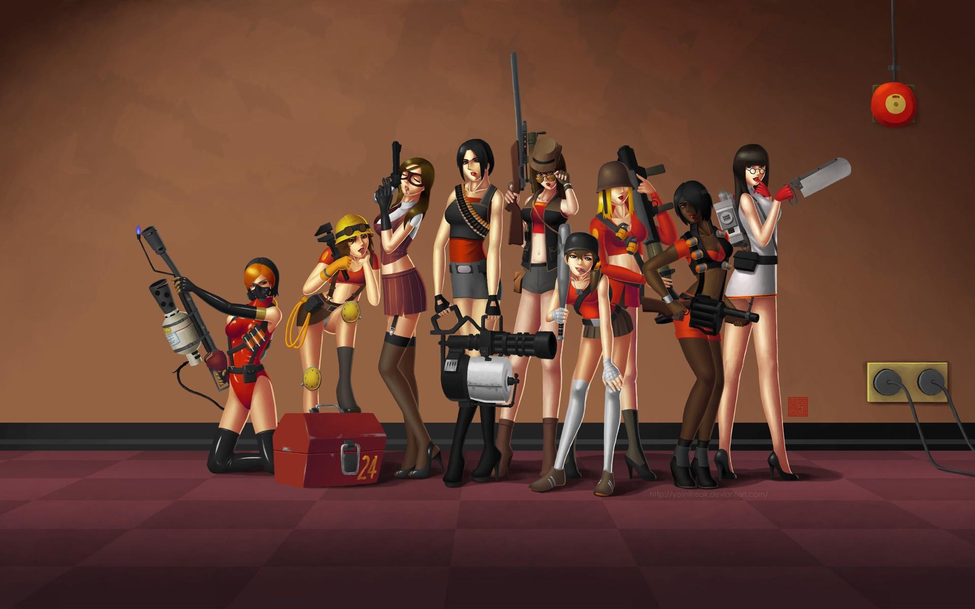 wallpaper Team Fortress 2